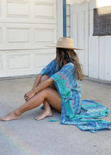 Load image into Gallery viewer, Boho Marrakesh Print Kimono