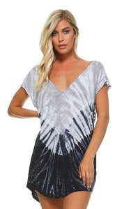 Marissa Tie Dye Cover Up