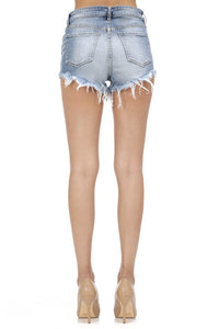 Jean Shorts - Lulu Highrise Compass