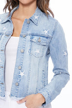 Load image into Gallery viewer, Jean Jacket - Stars