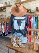 Load image into Gallery viewer, Texas Horn Oversized Tee