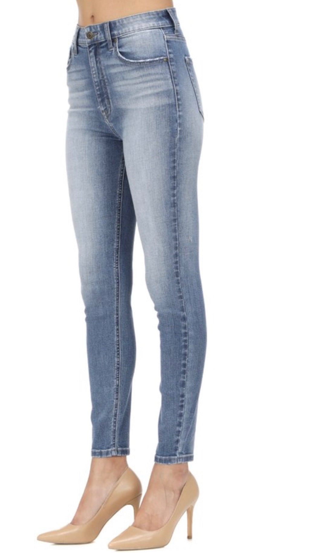 Jeans - Super High Rise Skinny Ankle Jeans