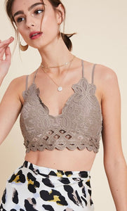 Bralette - Scallop Lace (13 colors)