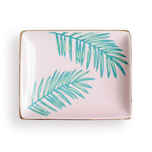 Jewelry Dish - Tropical Palms