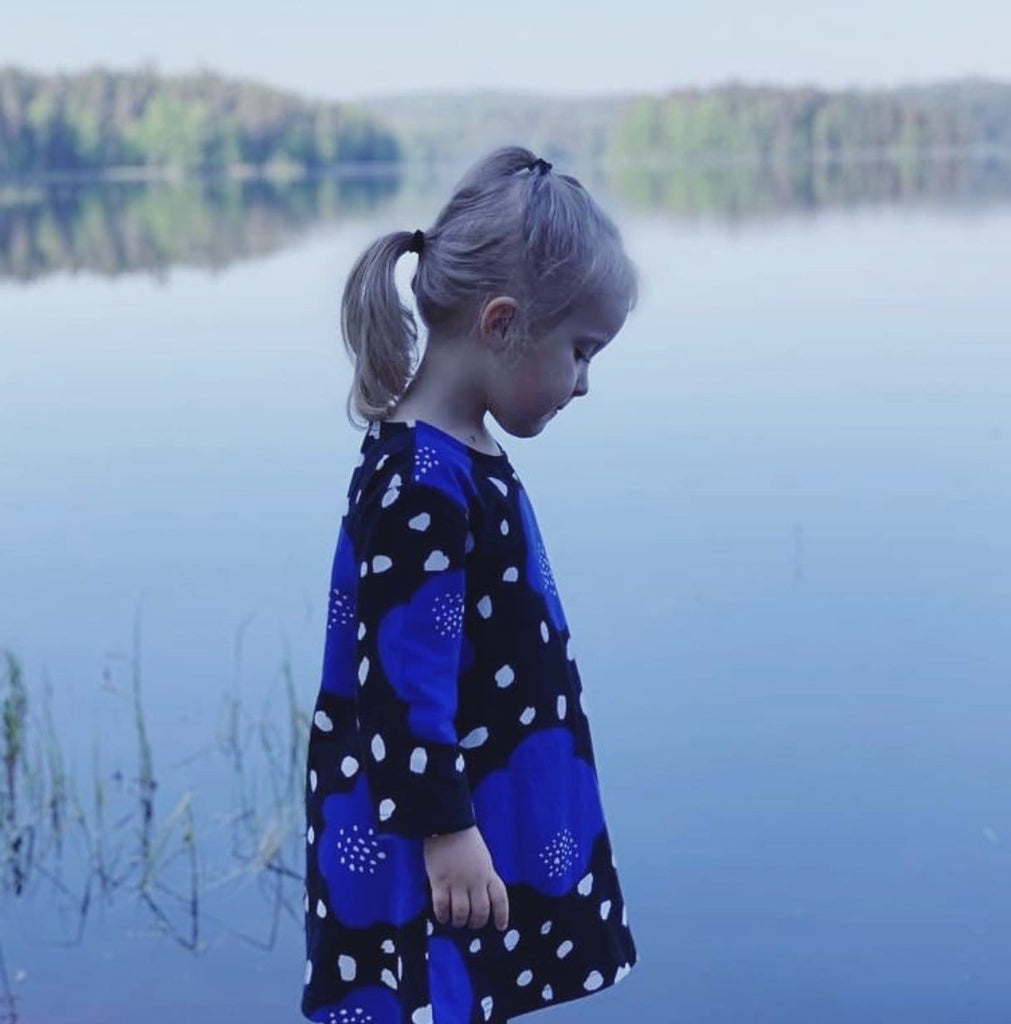 Ratia Kids Pisara Tunic Dress Poppyland - Nordic Labels