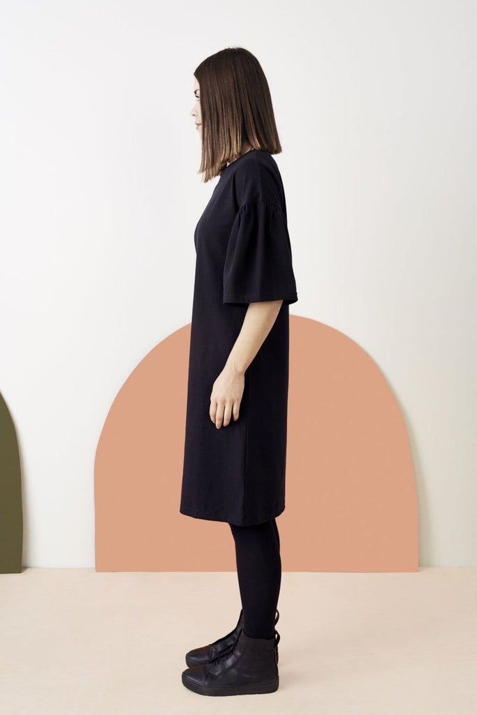 Papu Frill Sleeve Dress - Nordic Labels