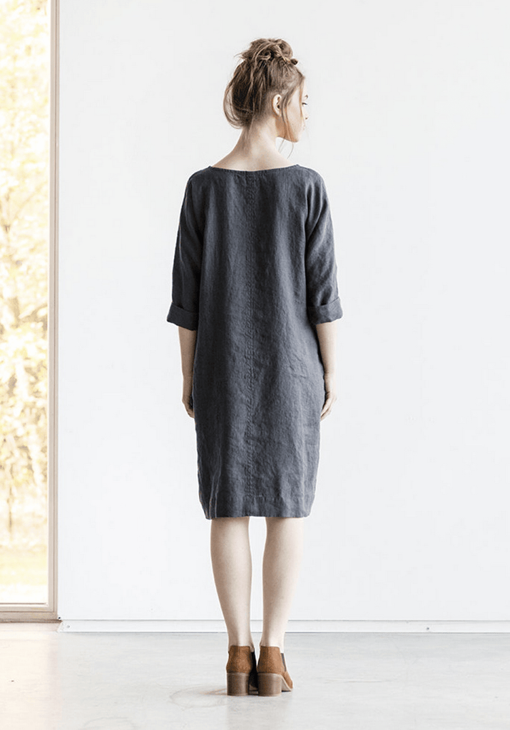 Linen November Tunic Dress - Nordic Labels