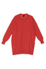 Aarre Merino Wool Tunic Mandarin Red - Nordic Labels
