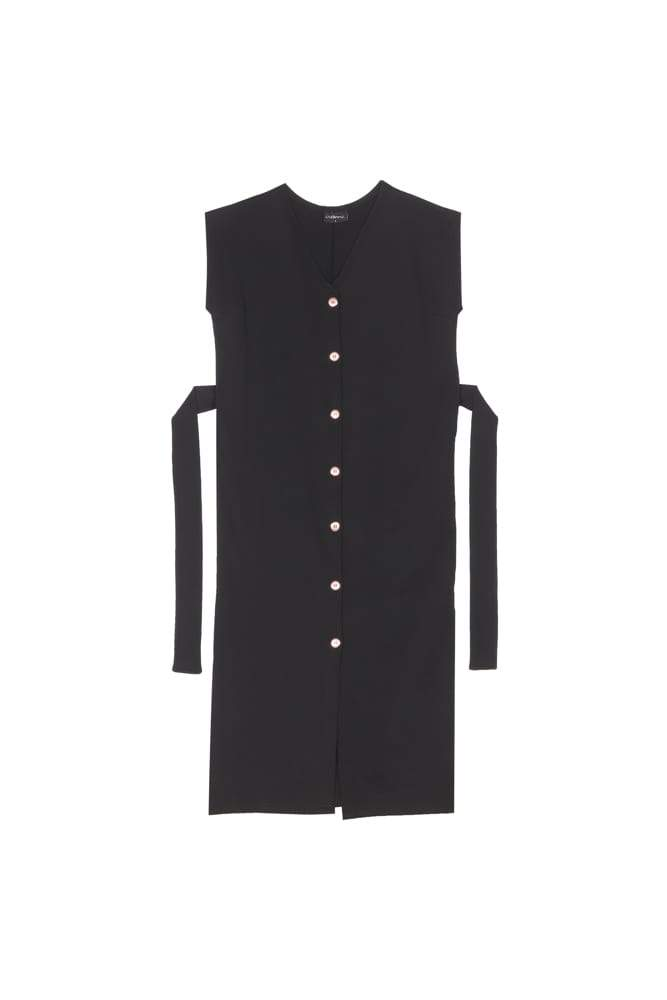 Aarre Nicola Buttoned Vest Dress - Nordic Labels