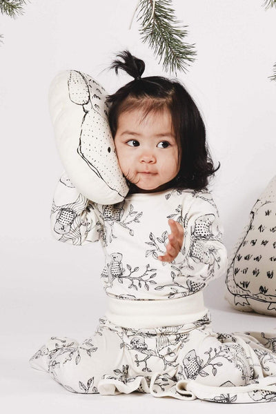Aarre Owl Baby Pants - Nordic Labels