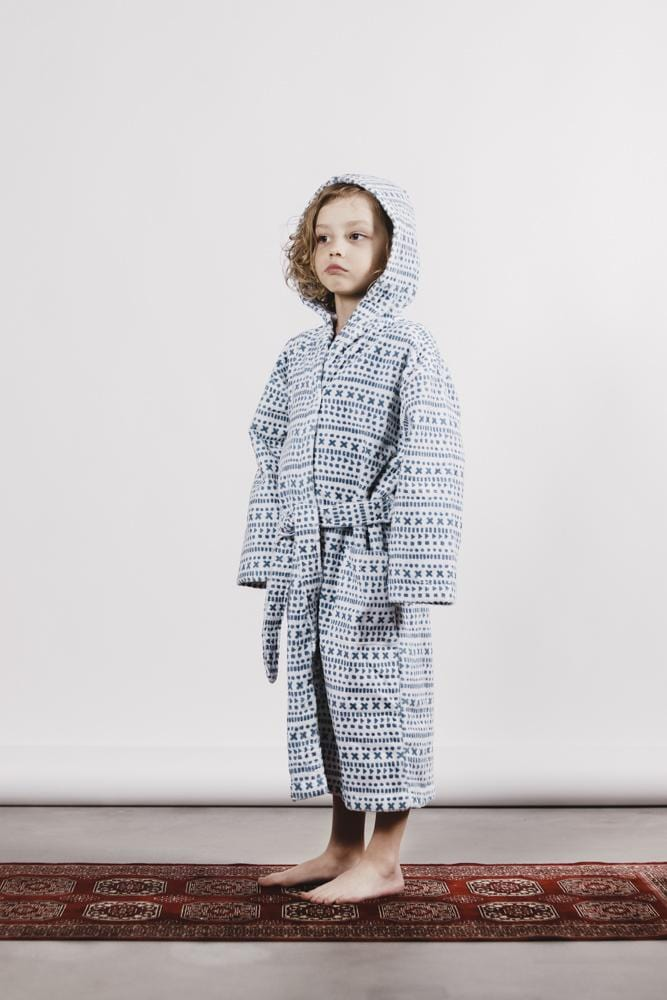 Aarre Brooklyn Kids Bathrobe - Nordic Labels
