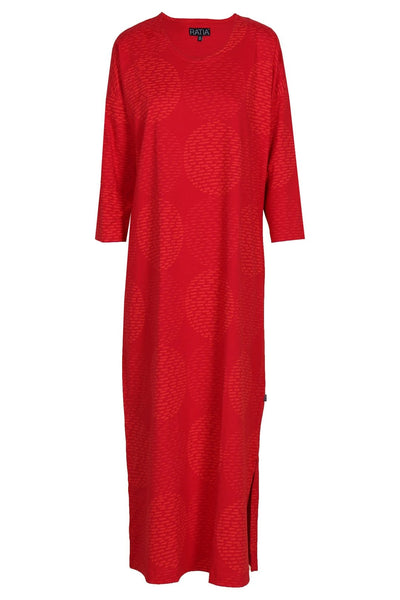 Ratia Adora Gown Pensseli Red - Nordic Labels