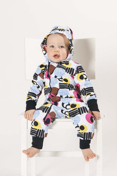 Pikkuset Candy Hooded Jumpsuit - Nordic Labels