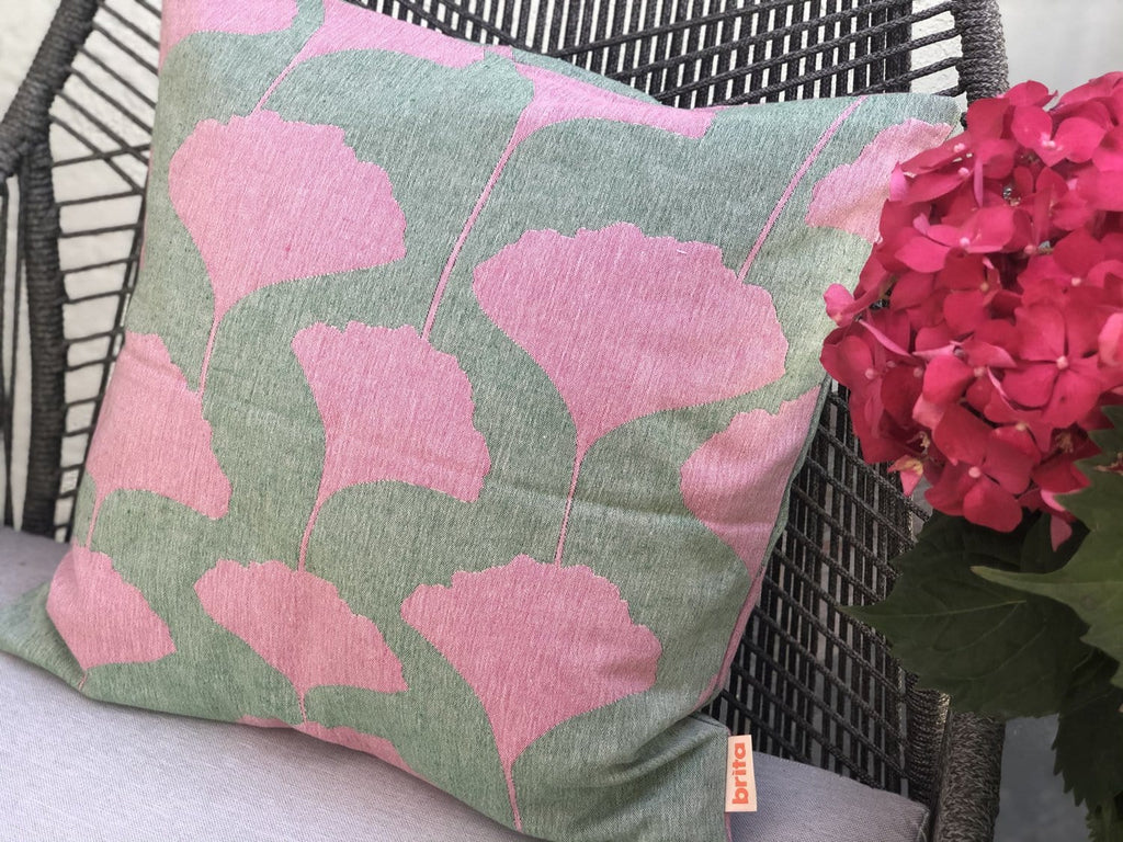 Brita Sweden Ginko Lush Pillow Cover - Nordic Labels