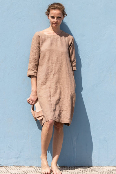Linen January Dress - Nordic Labels
