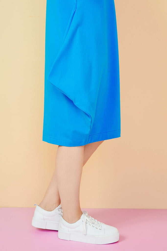 Papu Kanto Short Sky Blue Dress - Nordic Labels