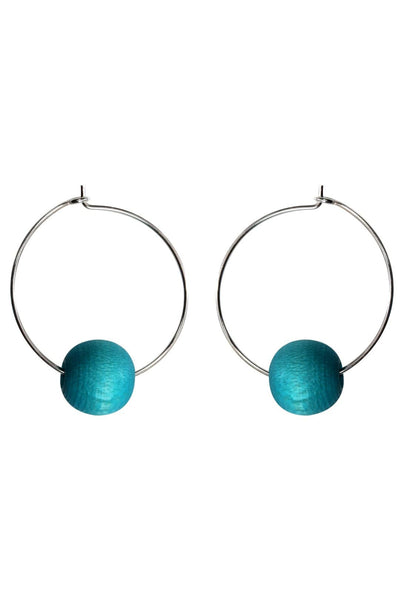 Aarikka Kehrä Turquoise Earrings - Nordic Labels