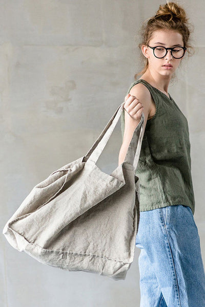 Linen Tote Natural - Nordic Labels