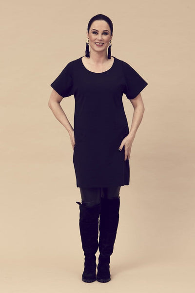 Ratia Sade Maxi Tunic Black - Nordic Labels