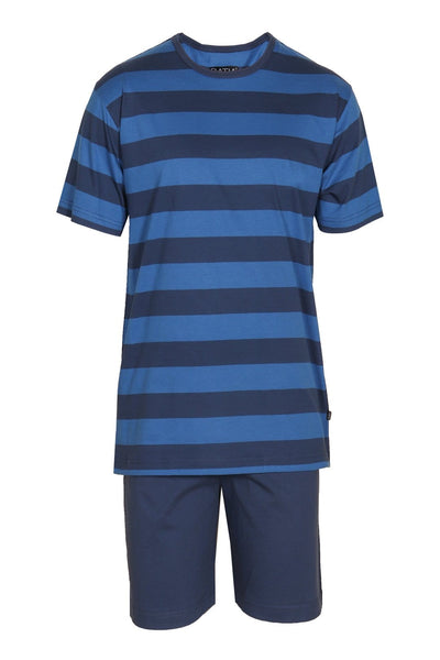 Ratia Blue Stripe Men's Pyjama Set - Nordic Labels