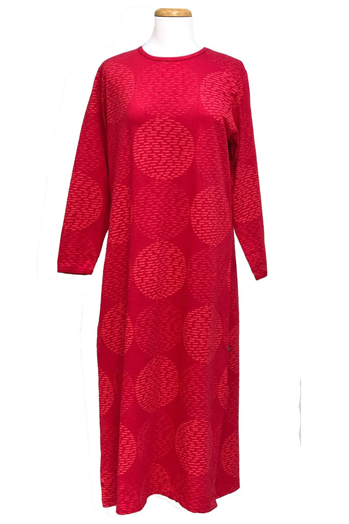 Ratia Pensseli Red Gown - Nordic Labels