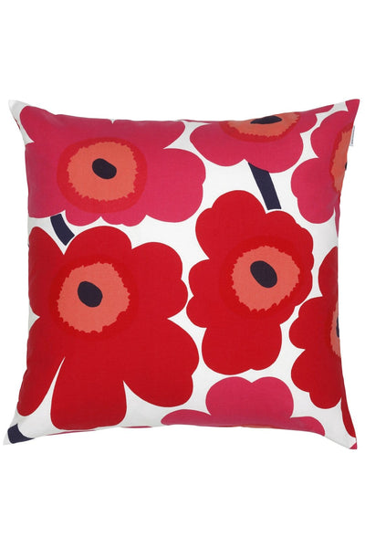 Marimekko Pieni Unikko Cushion Cover Red - Nordic Labels