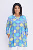 Ratia Pisara Tunic Lumipallo Turquoise/Yellow - Nordic Labels