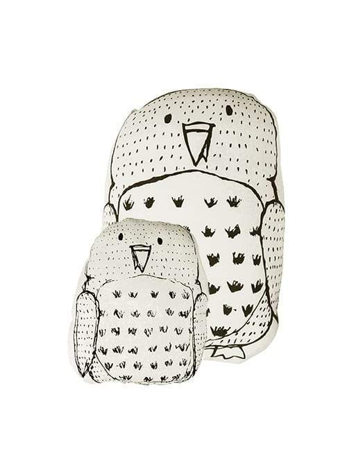 Aarre Owl Large Pillow - Nordic Labels