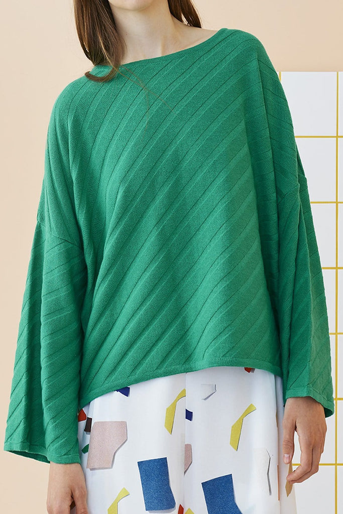 Papu Green Pullover - Nordic Labels
