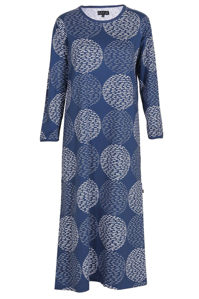 Ratia Pensseli Navy Gown - Nordic Labels