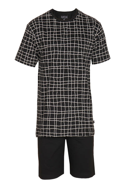 Ratia Ruudukko Men's Pyjama Set - Nordic Labels