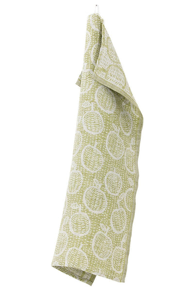Lapuan Kankurit Sato Olive Tea Towel - Nordic Labels