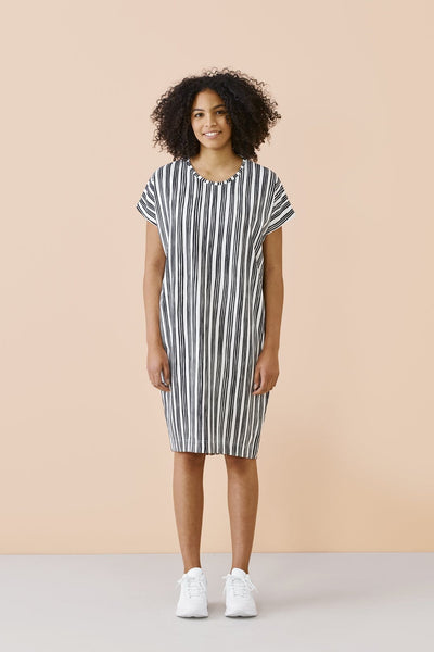 Papu Giant Stave Jersey Dress - Nordic Labels