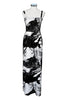 Ratia Espa Tuuli Maxi Dress Black/White - Nordic Labels