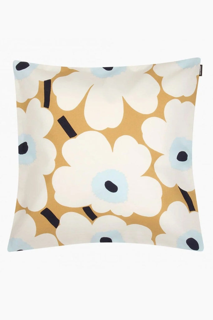 Marimekko Pieni Unikko Cushion Cover Beige - Nordic Labels