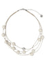 Aarikka Vilkas White Necklace - Nordic Labels