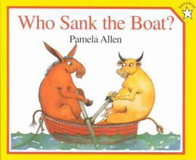 Who Sank The Boat? Board Book