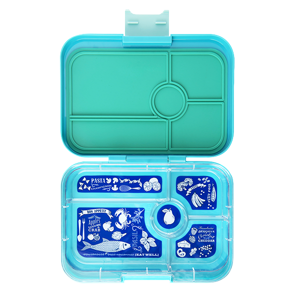 Yumbox Tapas 5 Compartment Antibes Blue