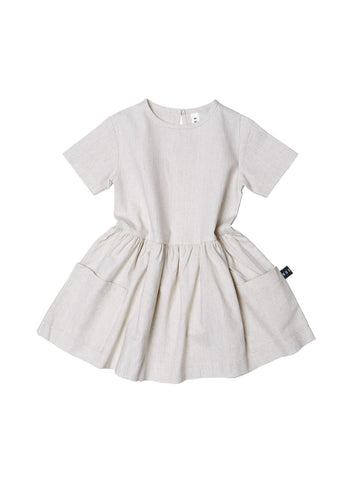 Huxbaby Linen Dress | Natural