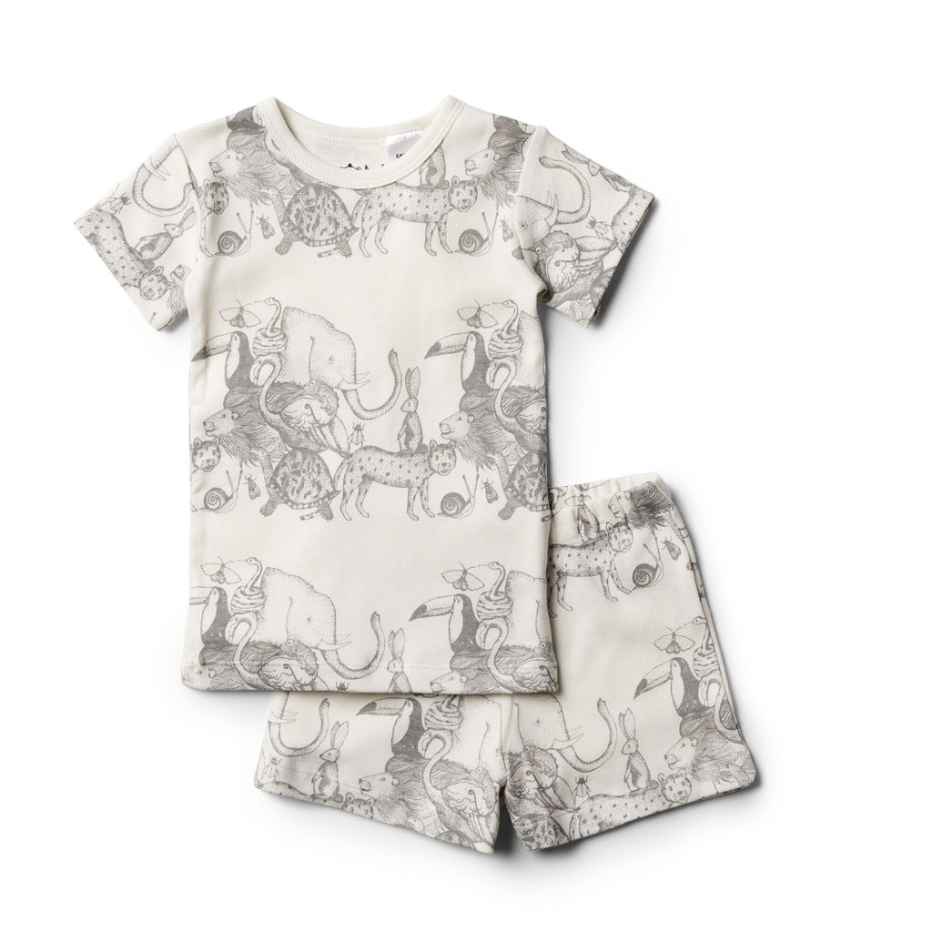 Wilson And Frenchy Organic Short Sleeve Pj Set | Animalia