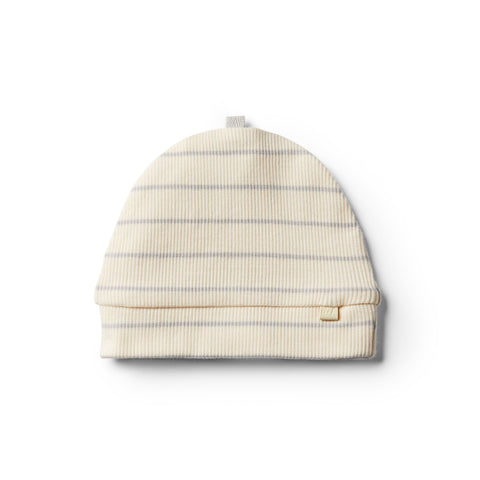 Wilson And Frenchy Organic Beanie | Glacier Grey Stripe
