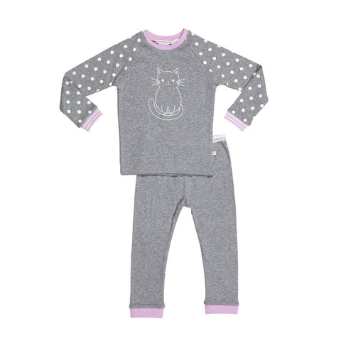 Huckleberry Lane Grey Cat Pj