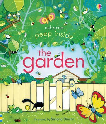 Peep Inside the Garden Board Book