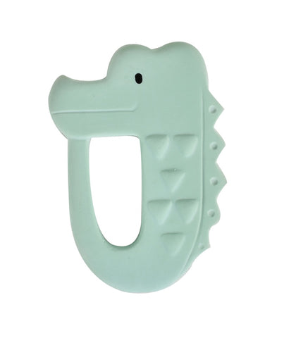 Crocodile Flat Rubber Teether