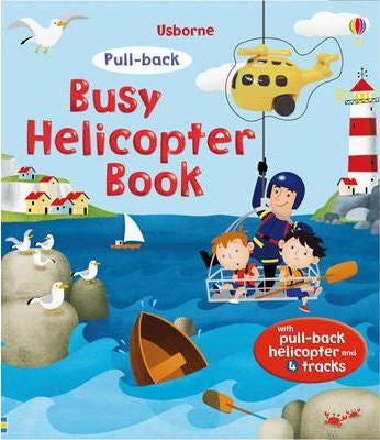 Busy Helicopter Interactive Book