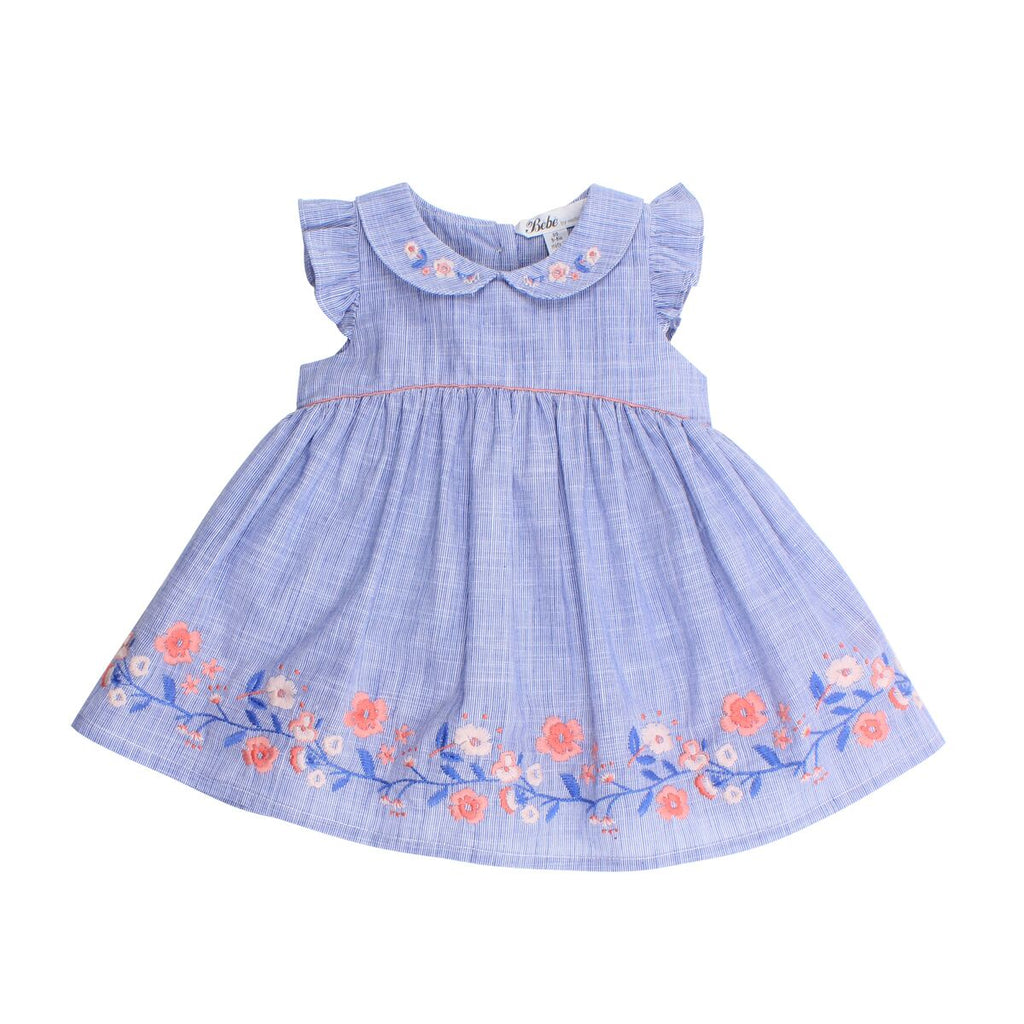 Bebe Evie Dress With Collar