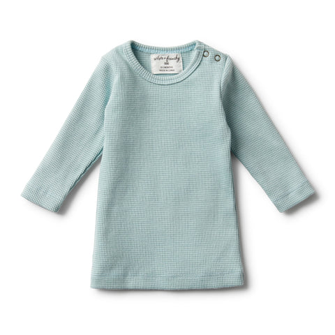 Wilson And Frenchy Organic Atlantic Rib Long Sleeve Top
