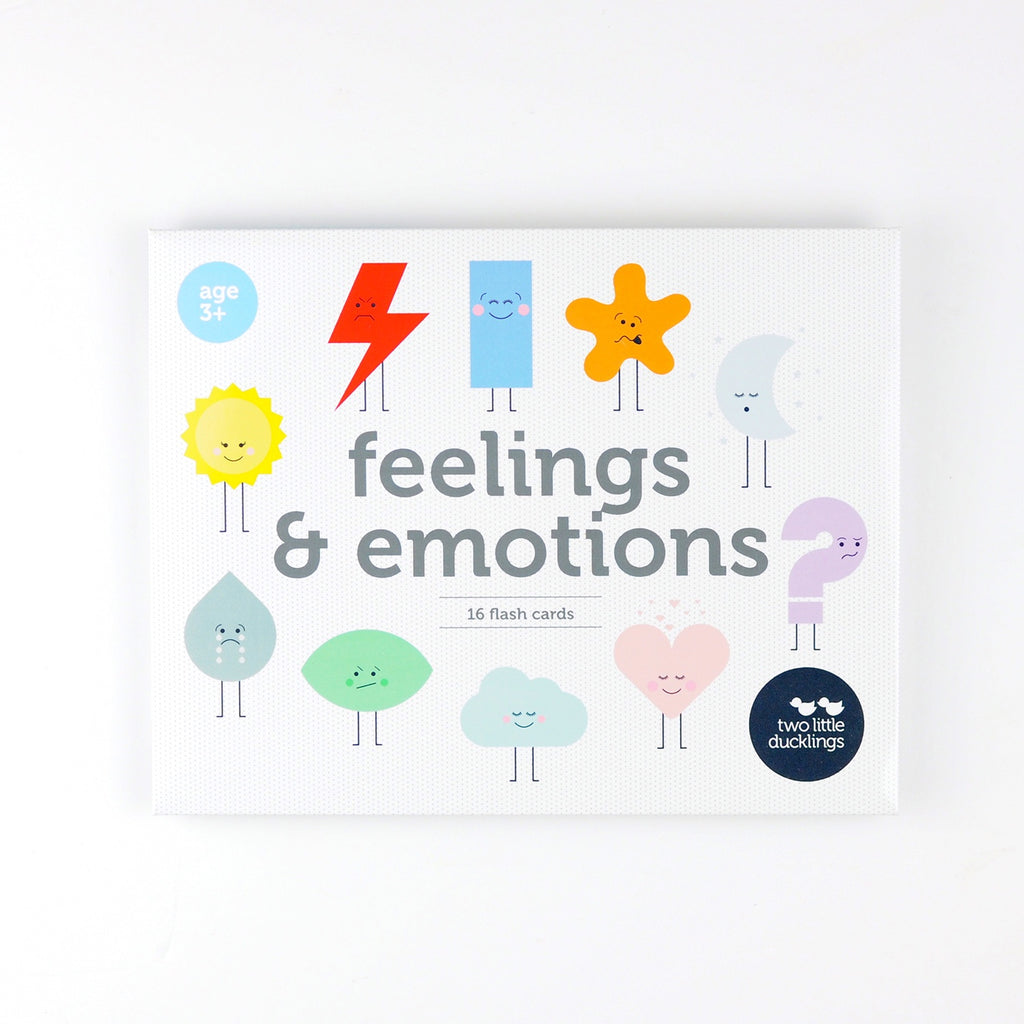 Two Little Ducklings | Feelings and Emotions Flash Cards