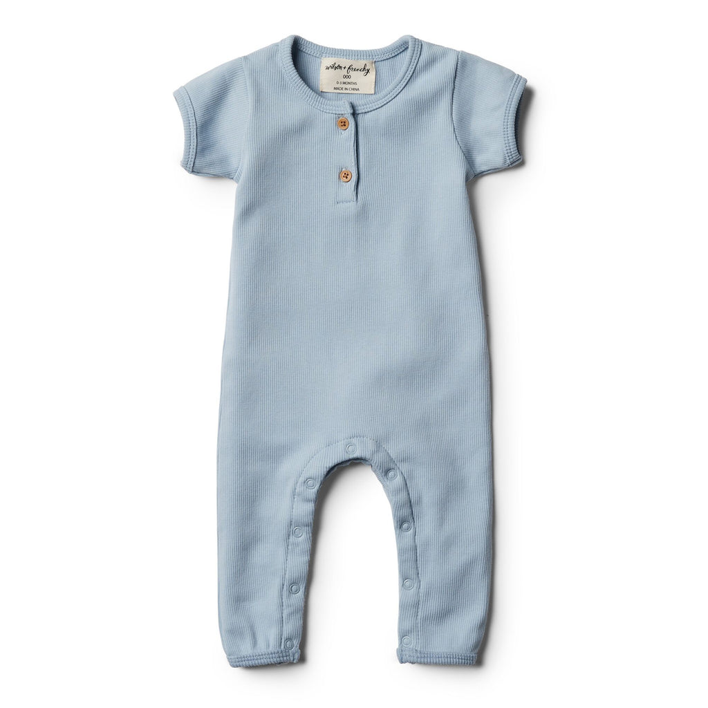 Wilson And Frenchy Growsuit | Dusty blue