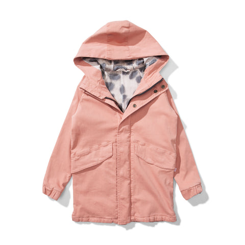 Munster Tracks Lined jacket / Washed Pink